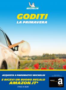 Promo Pneumatici Michelin primavera 2020